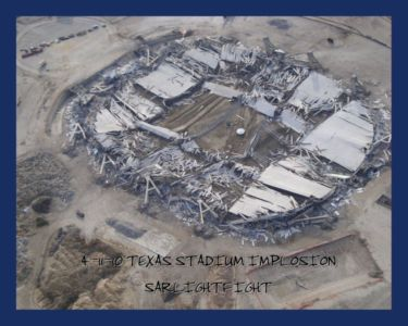 Old Dallas Cowboys Stadium